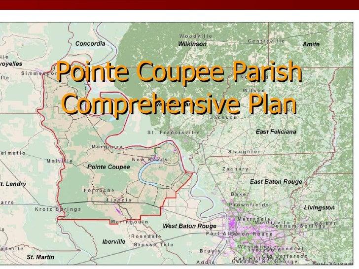 Pointe Coupee Parish Comprehensive Plan