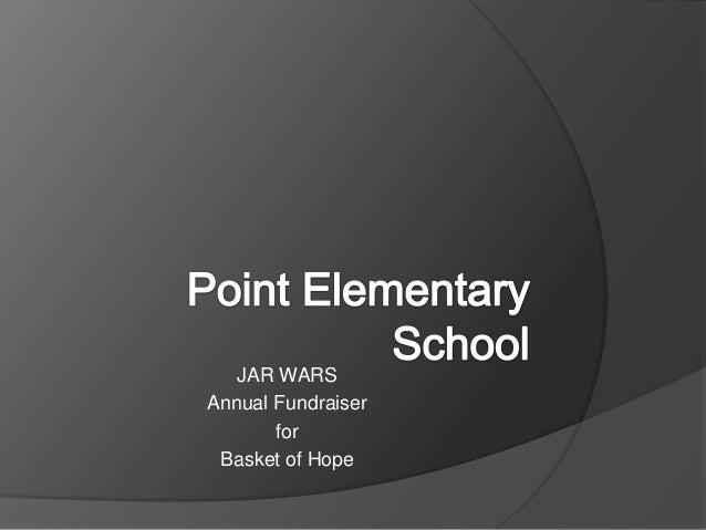 JAR WARS Annual Fundraiser for Basket of Hope