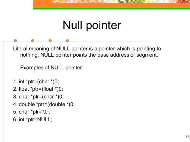 Verwendung von zeigern in c programmen / using pointers in c programs.