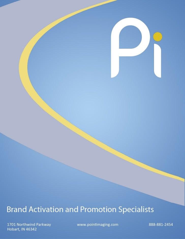 Point Imaging Brand Activation Sampler