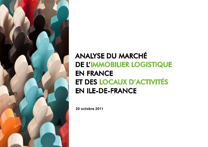 Visuel de couverture                       ANALYSE DU MARCHÉ                       DE L'IMMOBILIER LOGISTIQUE             ...