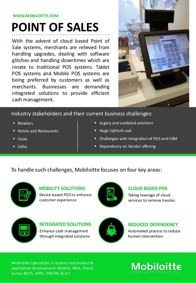 point of sales flyer mobiloitte