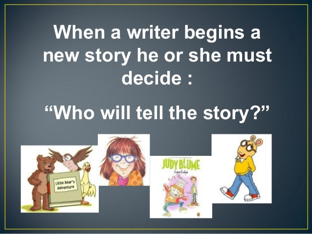 Point of view for Second Graders Slide 2