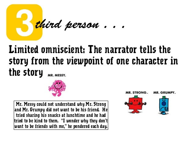 Understanding characters in objectively narrated stories