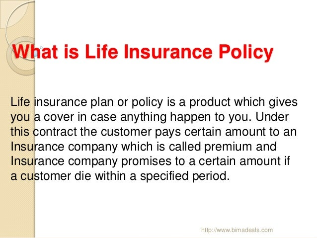 Points to Remember when Choosing Life Insurance Plans ...