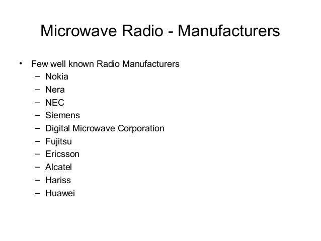 Microwave Link Design Ptp Transmission