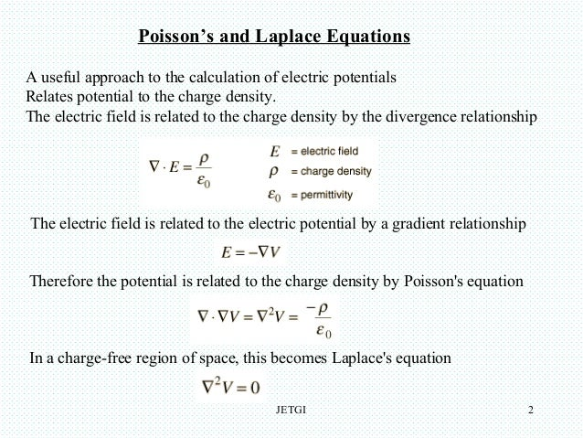 Poisson's equation 2nd 4