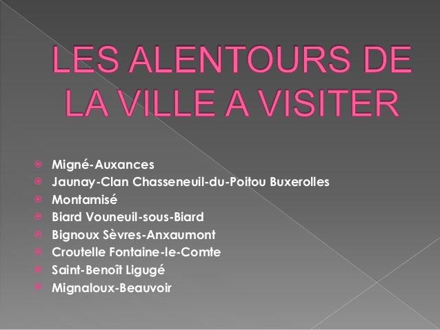 Poitiers - Chambre de commerce de poitiers ...