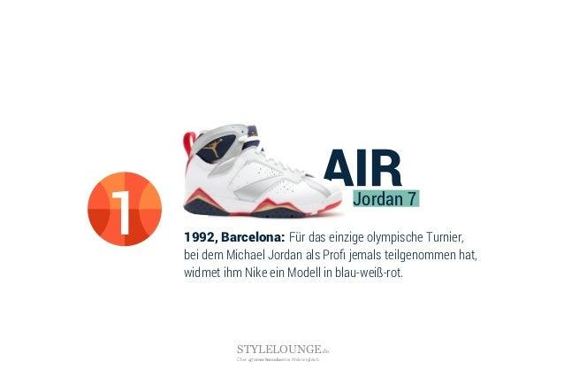1992, Barcelona: Für das einzige olympische Turnier, bei dem Michael Jordan als Profi jemals teilgenommen hat, widmet ihm N...