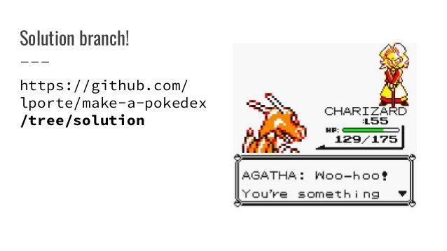 Pokemon Database Github