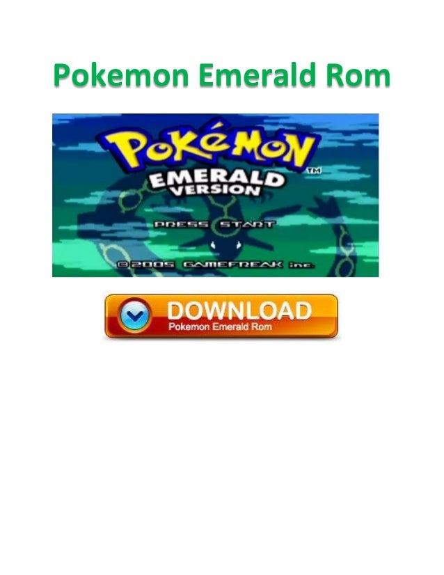 pokémon emerald rom download