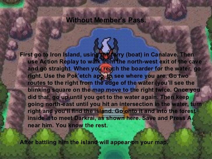 Pokemon pearl rare pokemon