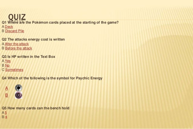 How To Play The Pokemon Trading Card Game