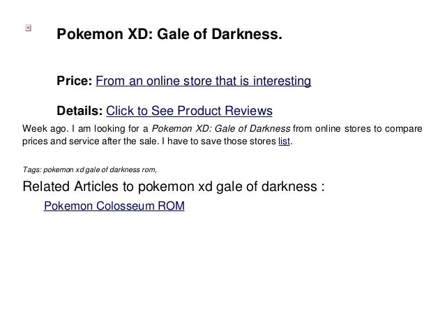 how to download pokemon xd gale of darkness on android