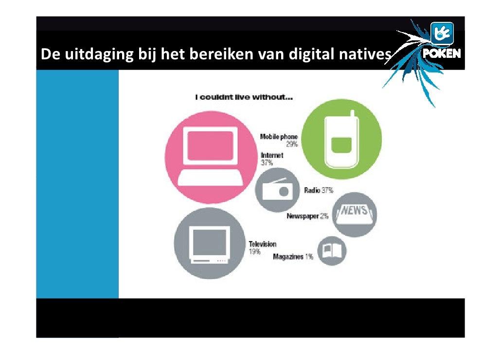 De uitdaging bij het bereiken van digital natives
