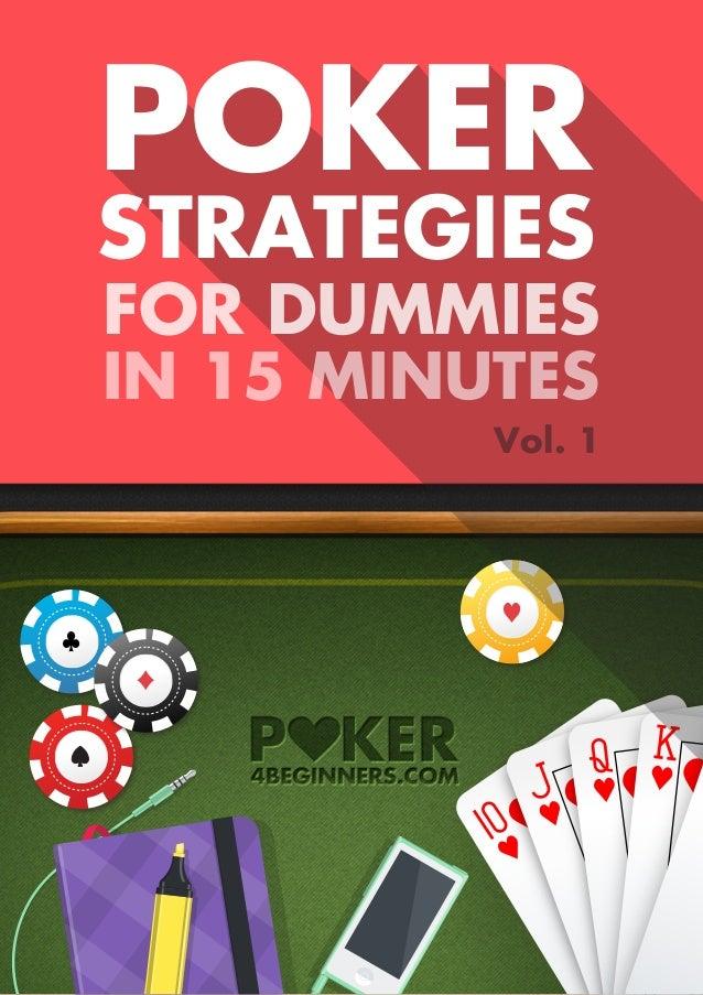 Poker for dummies video poker chips india