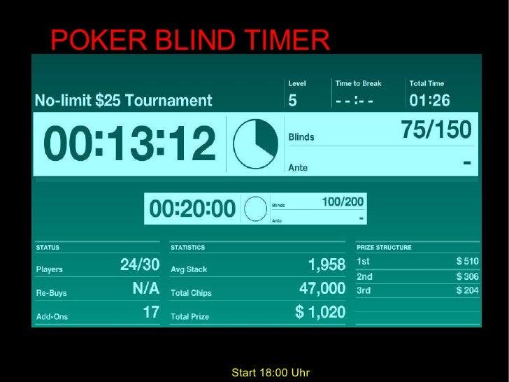Poker Uhr