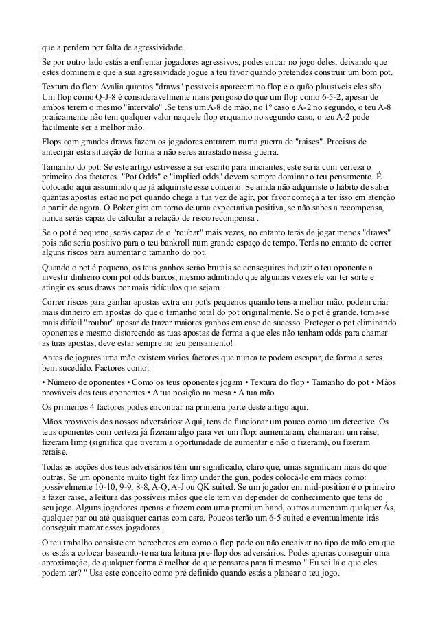 Poker em de portugues pdf livros