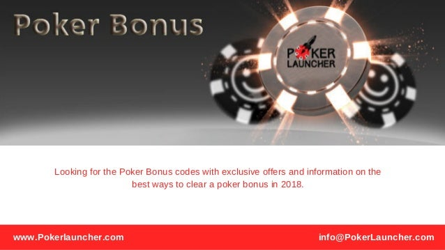 Poker Bonus Best Poker Bonus