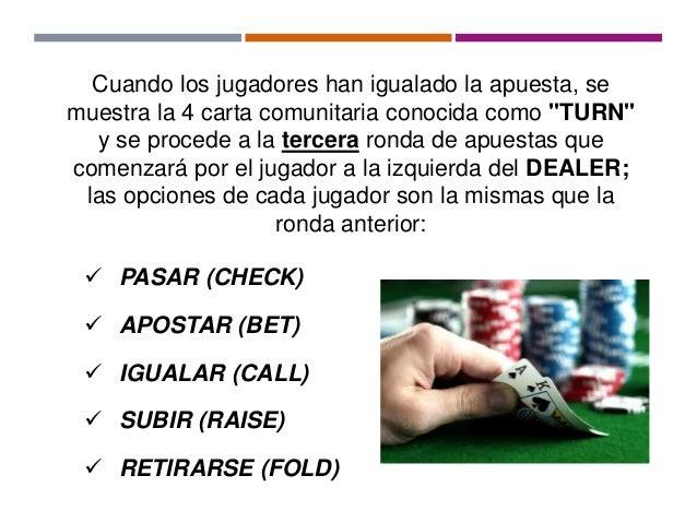 como jugar texas holdem en casino