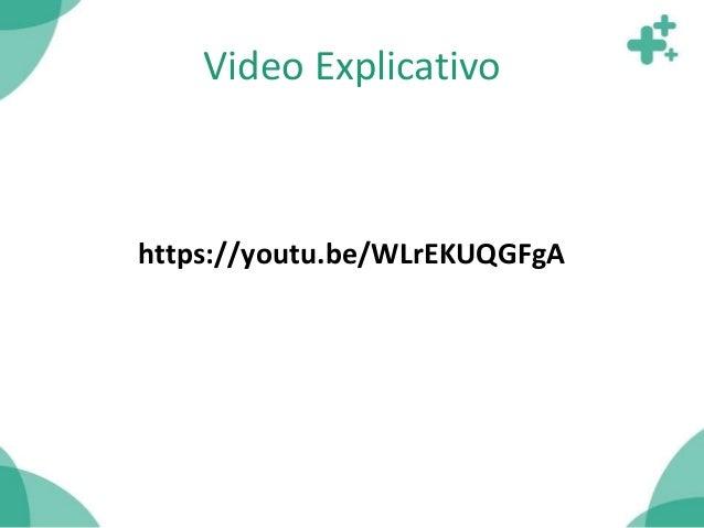 Video Explicativo https://youtu.be/WLrEKUQGFgA