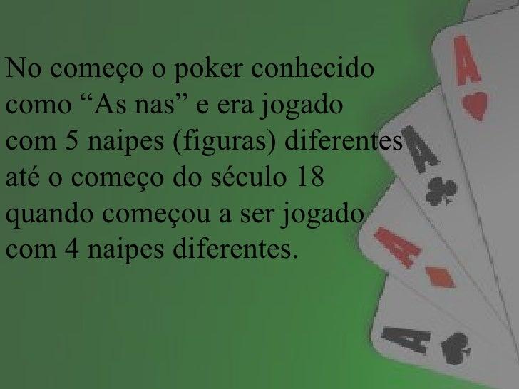 Pokerum jogo de raciocíniohabilidade Slide 2