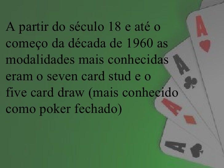 Pokerum jogo de raciocíniohabilidade Slide 3