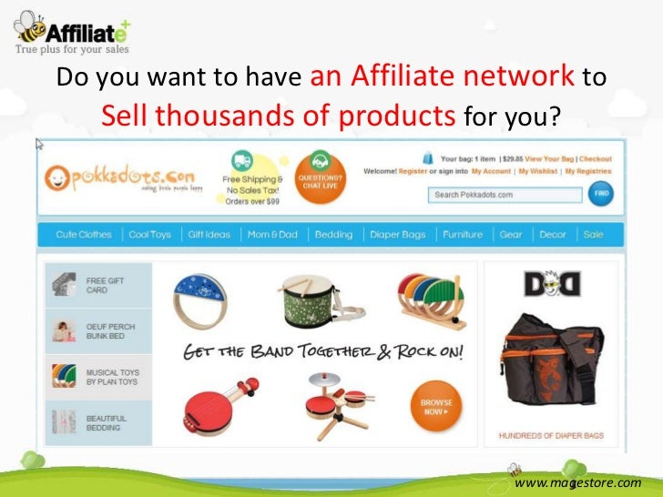 Do you want to have an Affiliate network to   Sell thousands of products for you?                                   www.ma...