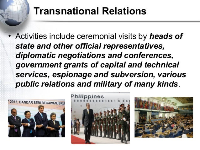characteristics of the nation state and transnational entities Types of international organization  between the governments of nation states  display characteristics and motivations that are essentially identical with .