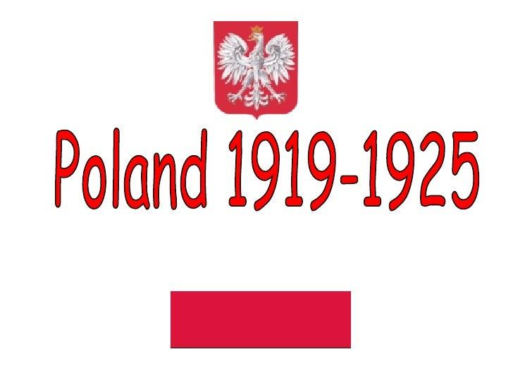 Poland 1919-1925