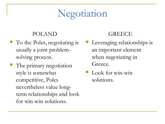 Negotiation process in poland