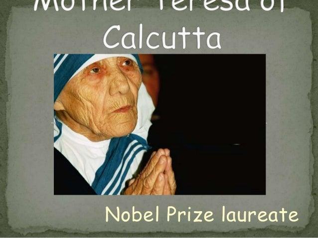 Nobel Prize laureate