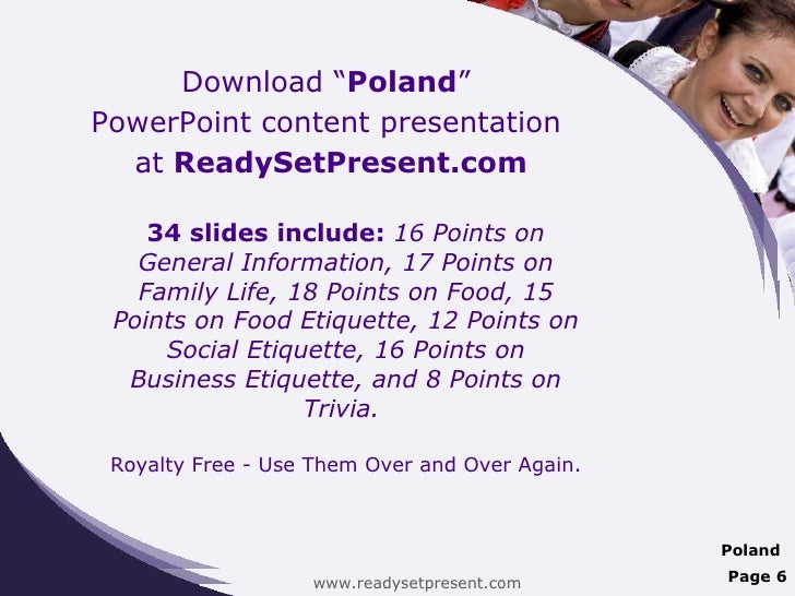 Poland country powerpoint presentation content.
