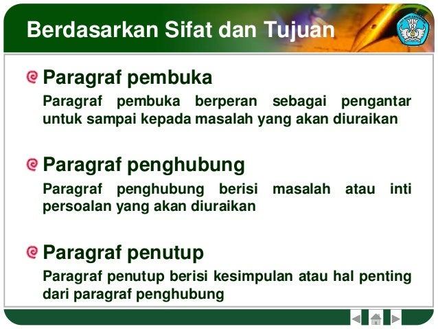 Pola paragraf dan kalimat utama
