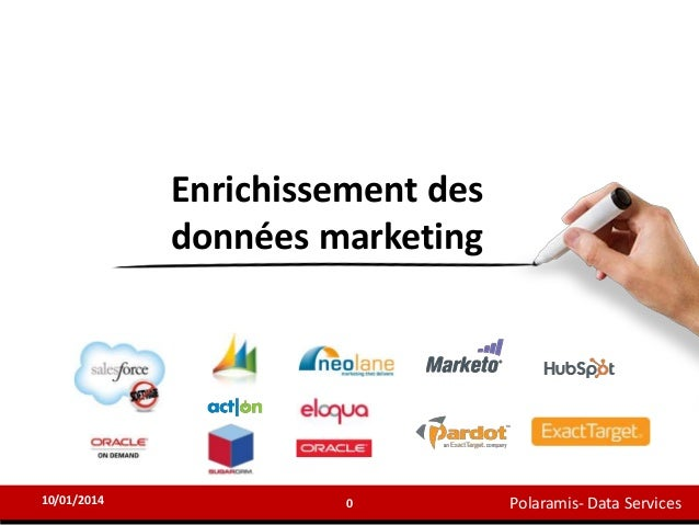 Enrichissement des données marketing  10/01/2014  0  Polaramis- Data Services