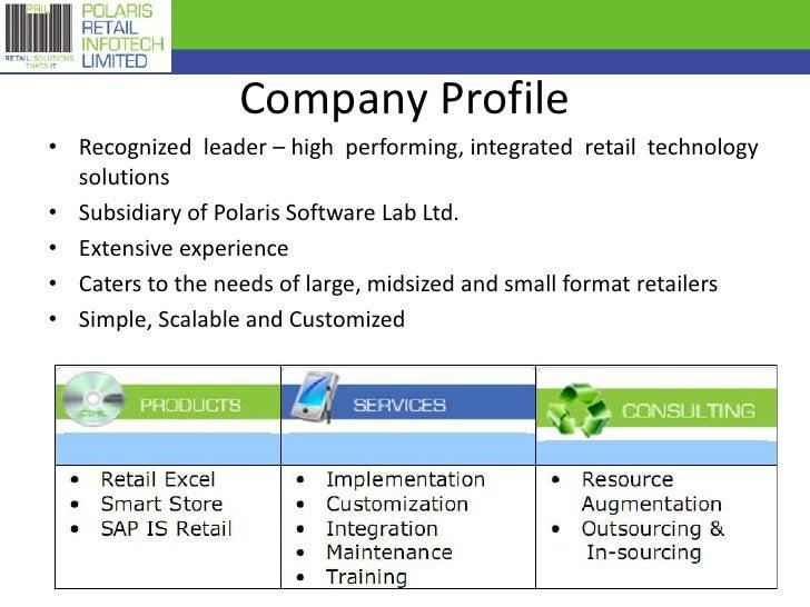 Polaris Retail Infotech Limited