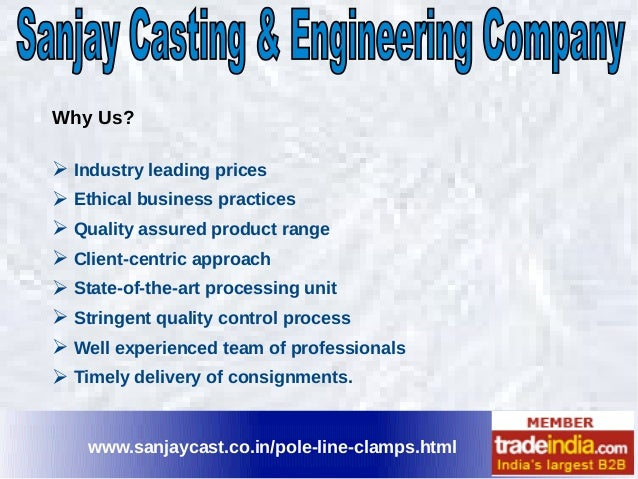 Line Drawing Method Ethics : Pole line clamps exporter manufacturer sanjay casting