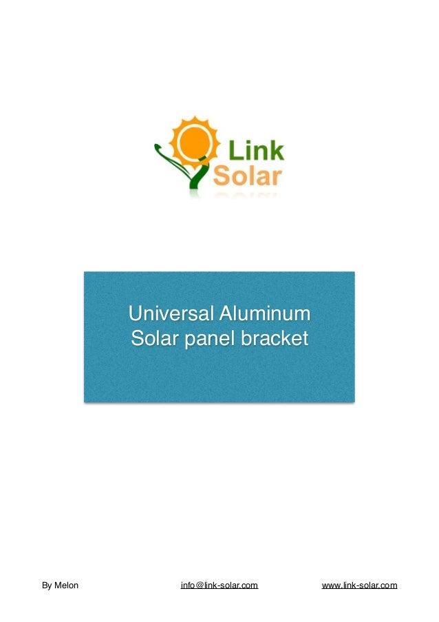 Universal Aluminum Side-of-Pole Mount