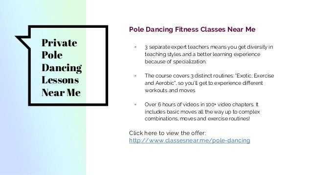 Pole Dancing Classes Near Me