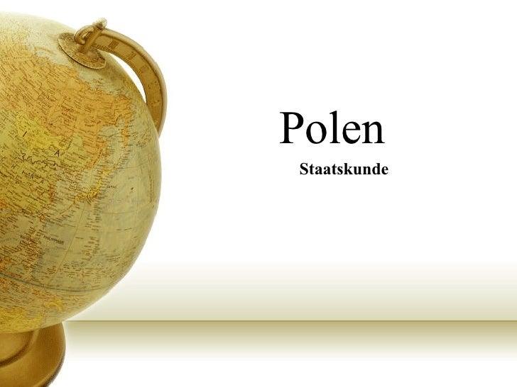 Polen Staatskunde