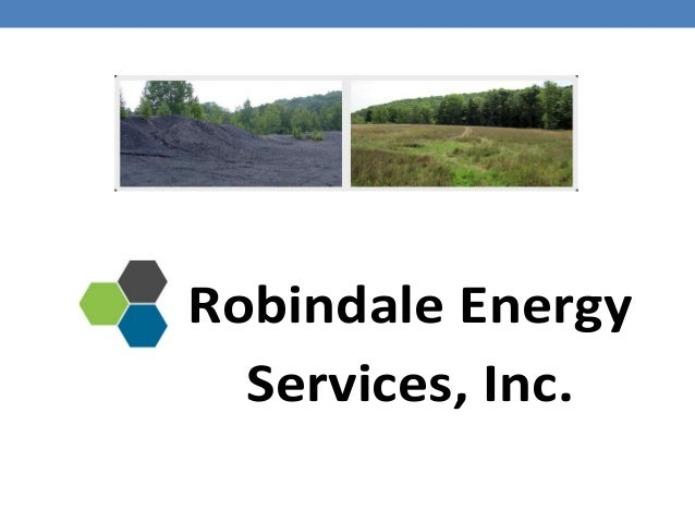 Robindale Energy Services, Inc.
