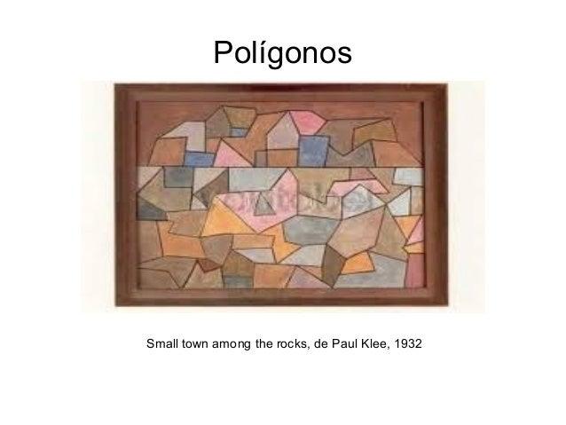 PolígonosSmall town among the rocks, de Paul Klee, 1932