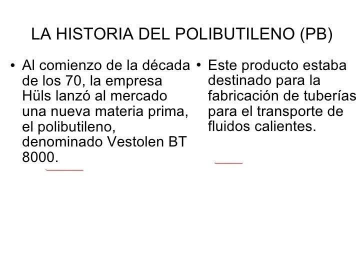 Polibutileno pb - Tuberias de polibutileno ...