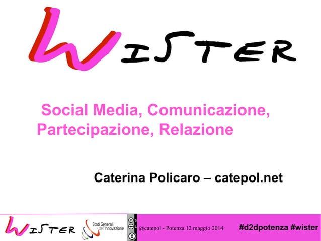 #d2dpotenza #wister Foto di relax design, Flickr Social Media, Comunicazione, Partecipazione, Relazione Caterina Policaro ...