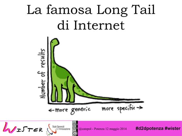 #d2dpotenza #wister La famosa Long Tail di Internet @catepol - Potenza 12 maggio 2014