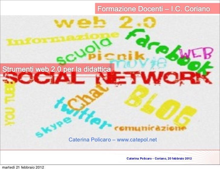 1                           Caterina Policaro – www.catepol.net                                                  Caterina ...
