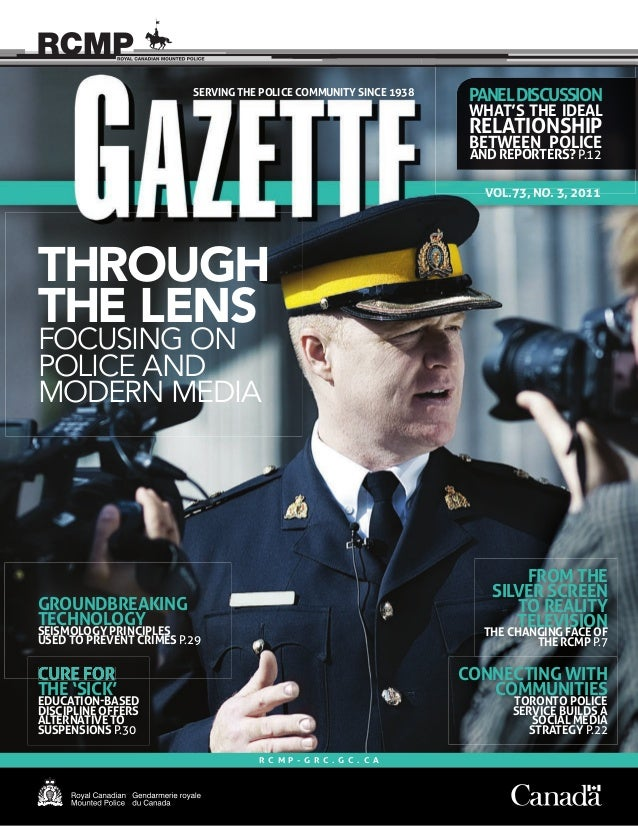 1Gazette Vol. 73, No. 3, 2011 VOL.73, NO. 3, 2011 FROM THE SILVER SCREEN TO REALITY TELEVISION THE CHANGING FACE OF THE RC...