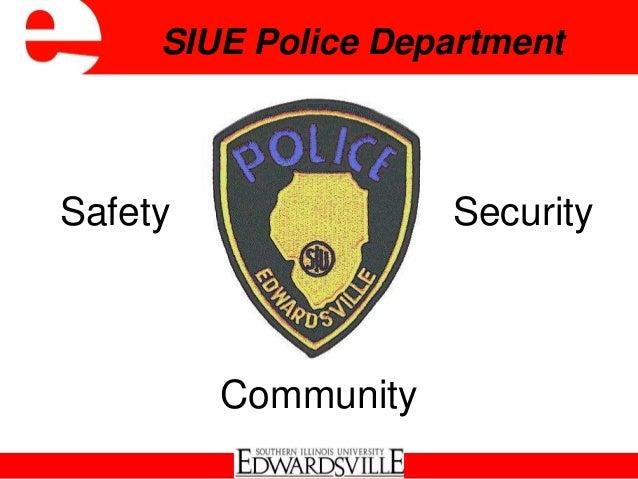 Safety SecuritySIUE Police DepartmentCommunity