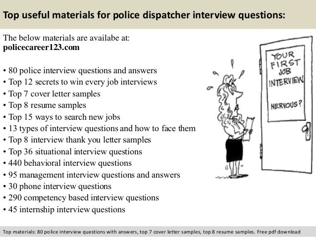 Charming Free Pdf Download; 12. Top Useful Materials For Police Dispatcher Interview  Questions: ... On 911 Dispatcher Interview Questions