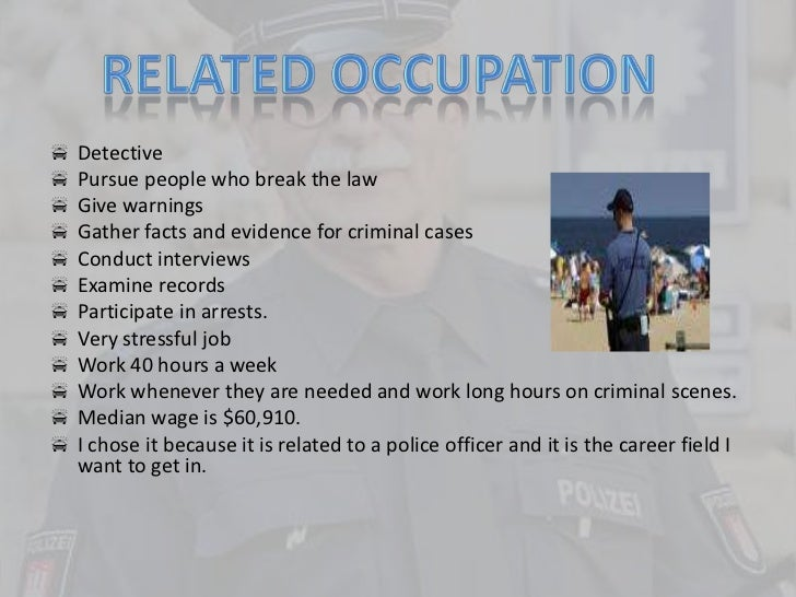 an introduction to becoming a police officer Police officer fitness, diet, lifestyle and its  introduction the literature on police officer fitness is significant so the  police officer,.
